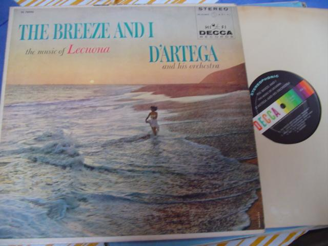 LATIN - D'ARTEGA - THE BREEZE & I - DECCA