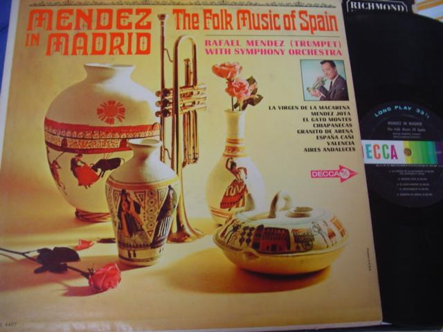 LATIN - RAFAEL MENDEZ - IN MADRID - DECCA