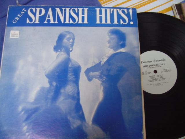LATIN - VARIOUS - GREAT SPANISH HITS - PASCON RECORDS