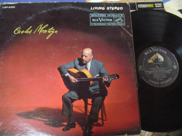 CARLOS MONTOYA - SELF TITLE - RCA LIVING STEREO LSP