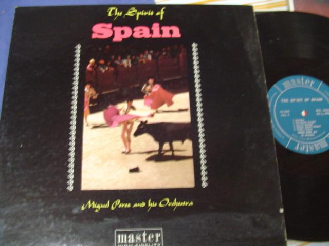 LATIN - MIGUEL PEREZ - SPIRIT OF SPAIN - MASTER RECORDS