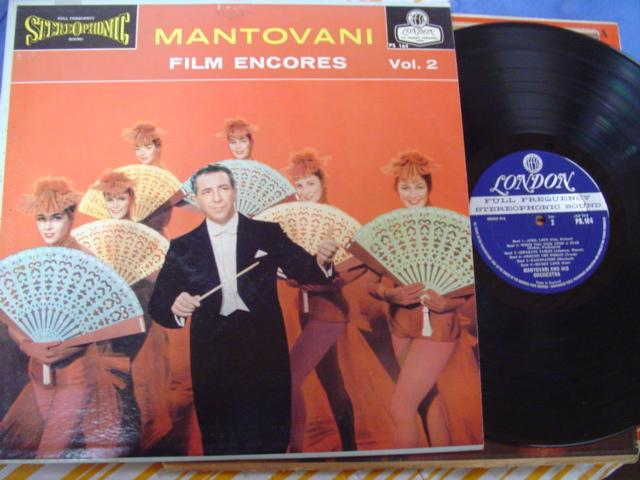 MANTOVANI - FILM ENCORES - LONDON ffss { MV 520