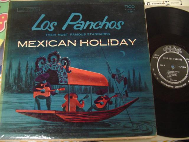 LATIN - LOS PANCHOS - MEXICAN HOLIDAY - TICO