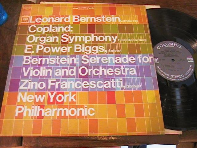 COPLAND - POWER BIGGS - BERNSTEIN - COLUMBIA { R 2302