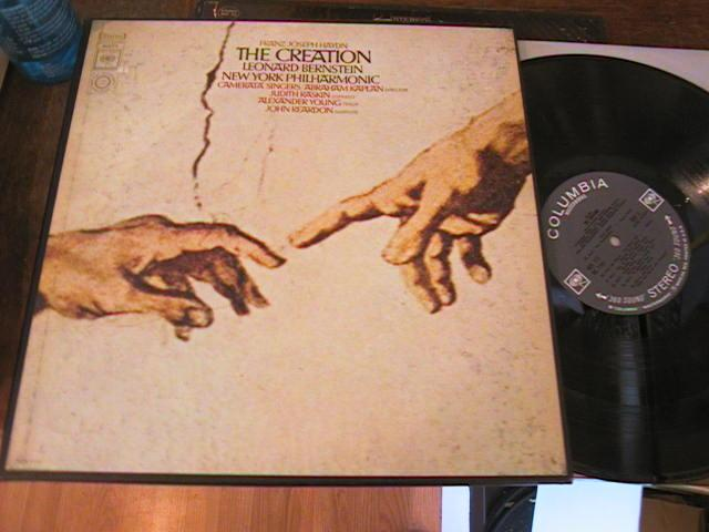 HAYDN - THE CREATION BERNSTEIN - 2LP COLUMBIA { R 2312