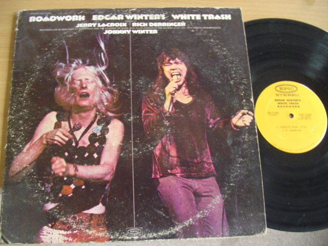 EDGAR WINTER - ROADWORKS - EPIC 2LP 1972