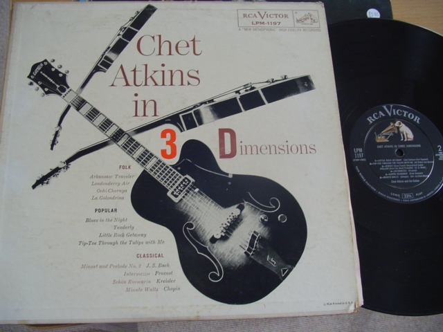 CHET ATKINS - IN 3 DIMENSION - RCA 1956