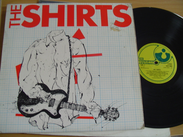 THE SHIRTS - SELF TITLE - HARVEST UK 1978