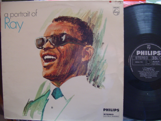 RAY CHARLES - PORTRAIT OF - PHILIPS GERMAN