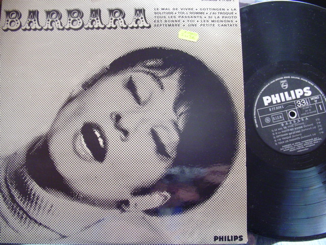 BARBARA - SELF TITLE - FRENCH PRESSING - PHILIPS