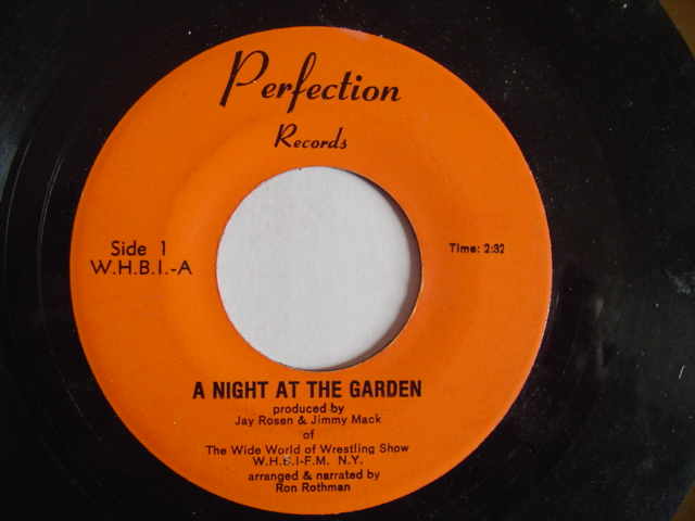 A NIGHT AT THE GARDEN - WRESTLING SHOW - PERFECTION