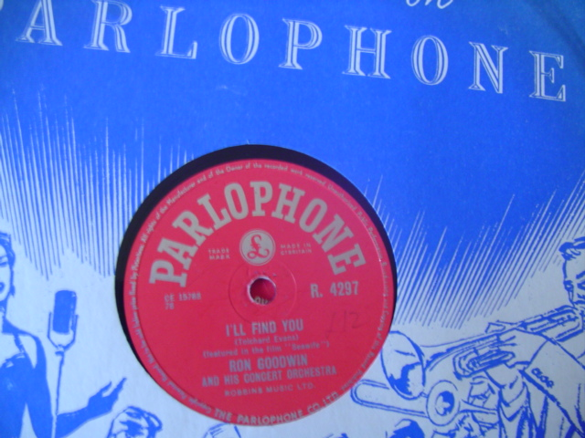 RON GOODWIN - I'LL FIND YOU - PARLOPHONE