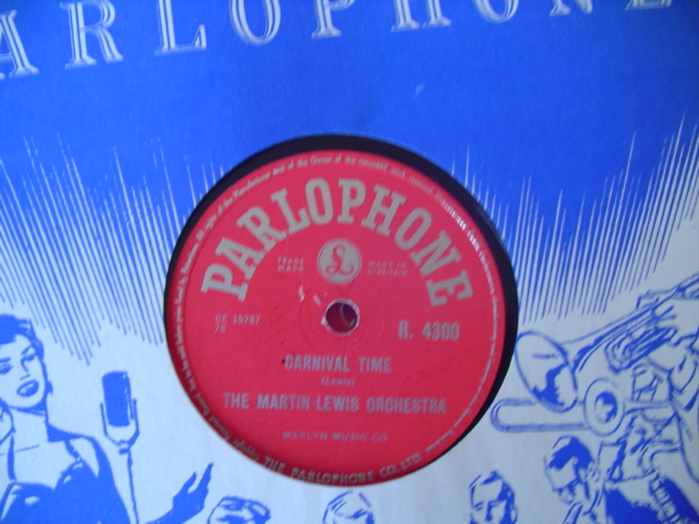 MARTIN - LEWIS ORCHESTRA - CARNIVAL TIME - PARLOPHONE