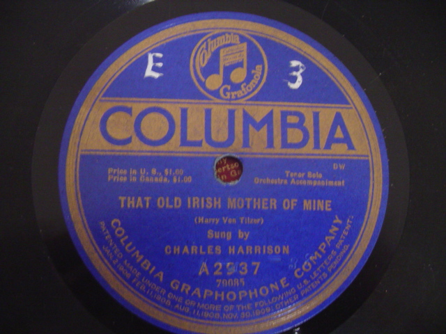 CHARLES HARRISON - OLD IRISH MOTHER - COLUMBIA USA