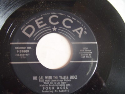 THE FOUR ACES - IF YOU CAN DREAM - DECCA { 2112