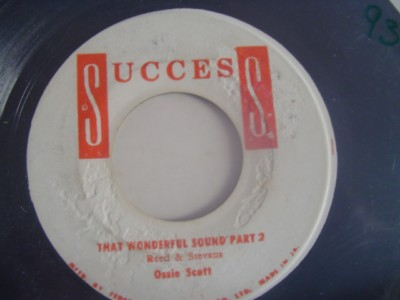OSSIE SCOTT - THAT WONDERFUL SOUND - SUCCESS { 2134