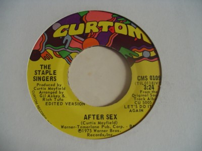 THE STAPLE SINGERS - CURTOM 0109 { 891 & 363 & 2136
