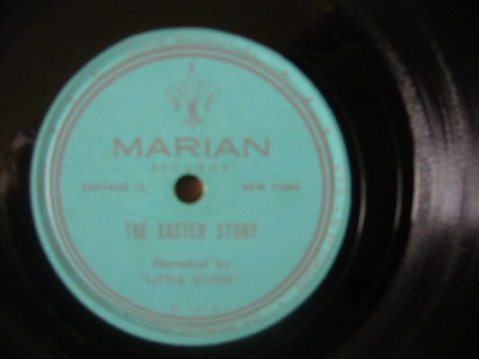LITTLE SISTER - THE EASTER STORY - MARIAN RECORDS