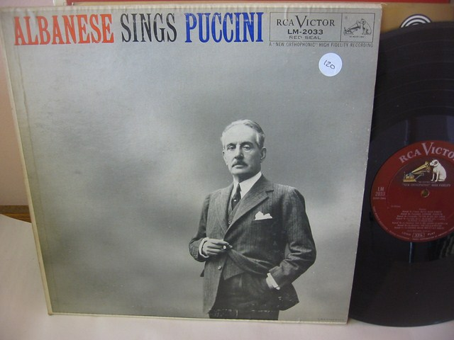 ALBANESE - SINGS PUCCINI - RCA LM 2033 { 120