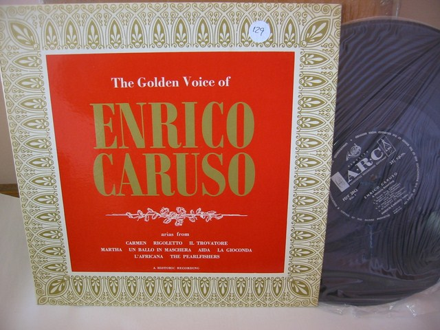 CARUSO - GOLDEN VOICE - ARC RECORDS { 129