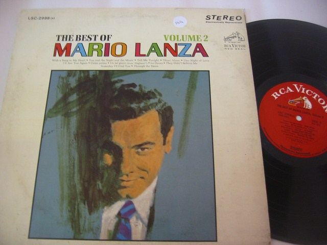 MARIO LANZA - THE BEST OF VOL 2 - RCA { 144