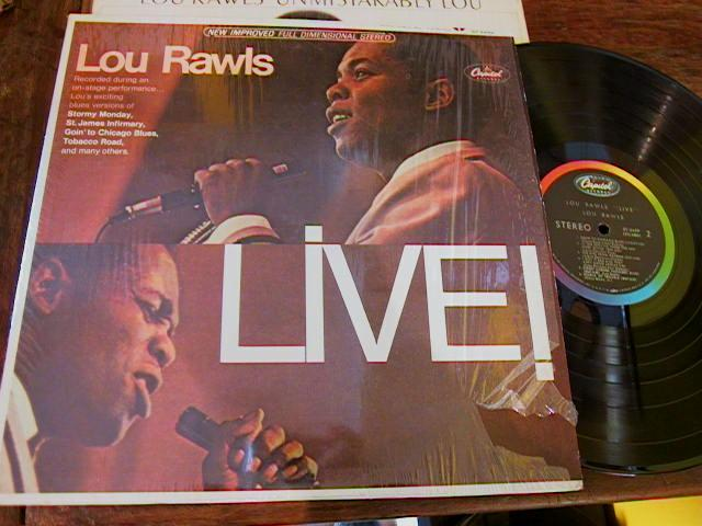 LOU RAWLS - LIVE 1966 - STEREO CAPITOL 1251