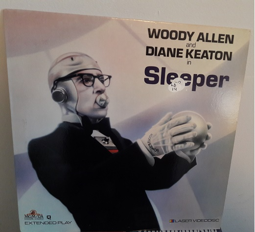 Woody Allen - Sleeper - Laserdisc MGM USA Excellent
