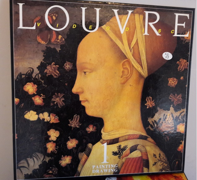 Louvre 1 Painting Drawing - Laserdisc + 132 Page Book Excellent