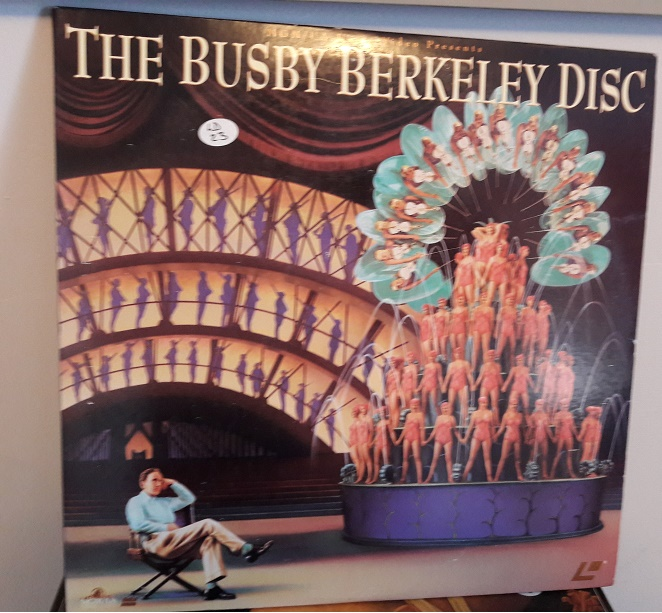 Busby Berkeley Disc - Laserdisc MGM ML102812 2 Disc - Excellent
