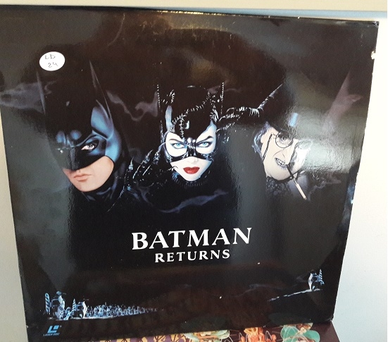 Batman Returns - Laserdisc Warner 2 Disc 1989 Excellent