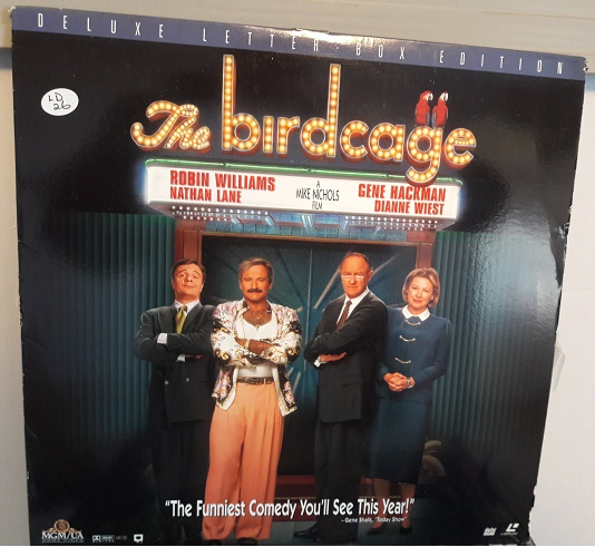 The Birdcage - Laserdisc MGM ML.105536 - Letterbox Excellent