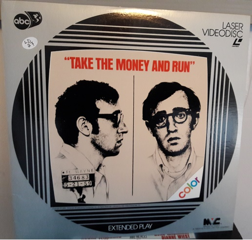 Take the Money & Run - Laserdisc Fox 8007-80 - Excellent
