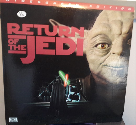Star Wars - Return of the Jedi - 2 Laserdisc Fox 8765-85 Excel