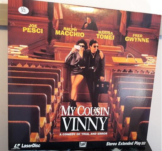 My Cousin Vinny - Laserdisc Fox 1876-80 - USA Excellent