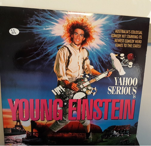 Young Einstein - Laserdisc Warner 11759 - USA Excellent