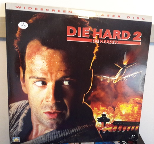 Die Hard 2 - Laserdisc Fox 8906-85 - USA 2 Disc Excellent