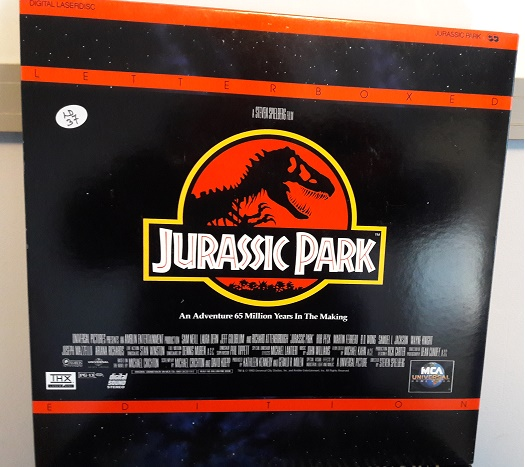 Jurrasic Park - MCA 41829 - 2 Laserdisc - USA Excellent