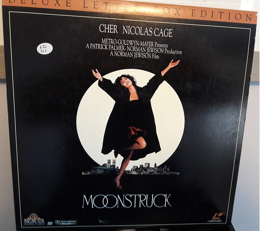 Moonstruck Cher - Laserdisc MGM ML104692 - USA Excellent