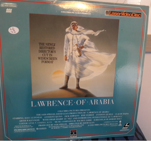 Lawrence of Arabia - 2 Laserdisc - RCA 50136 - USA Excellent