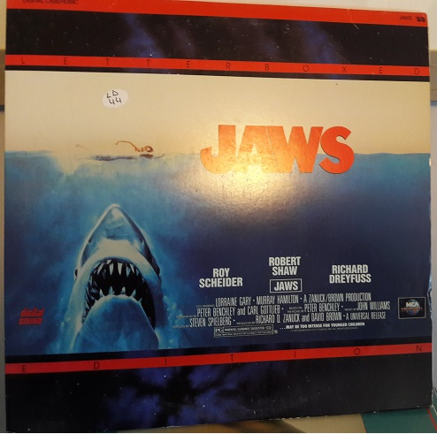 Jaws - 2 Laserdisc MCA 41086 Letterbox - USA Excellent