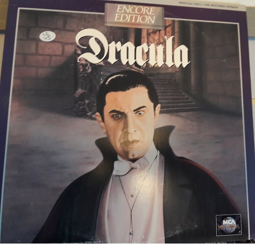 Dracula - Laserdisc MCA 23001 Encore - USA Excellent