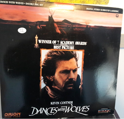 Dances with Wolves - 2 Laserdisc Orion ID8322OR USA Excellent