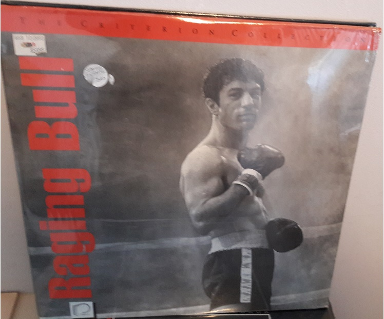 Raging Bull - Laserdisc Sealed Unopened 3 Discs Criterion