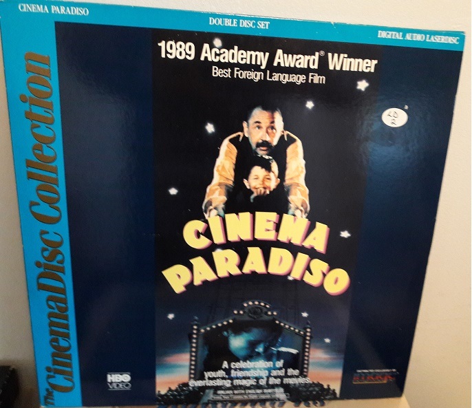 Cinema Paradiso - Laserdisc 2 Discs Set USA 1991 Excellent