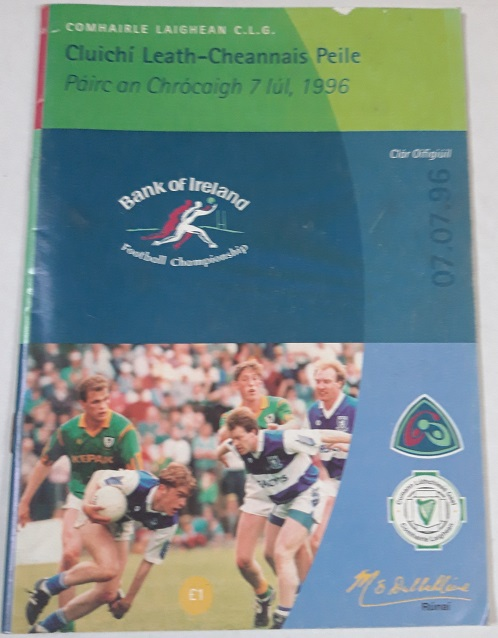 1996 Laois v Meath Croke Park Leinster Semi Final
