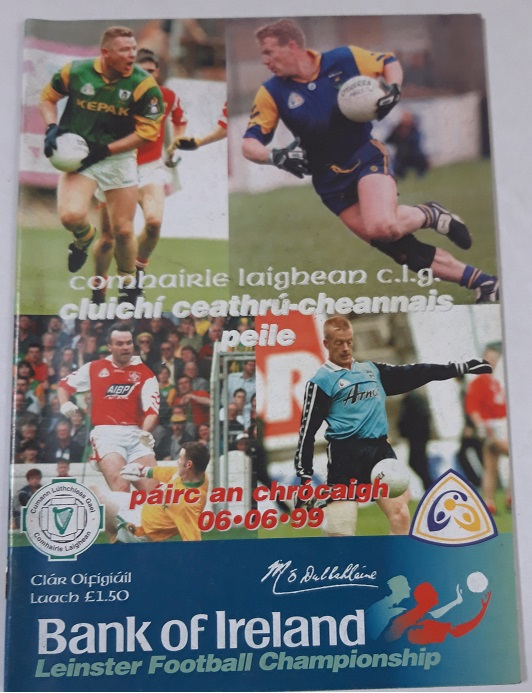 1999 Dublin Louth Meath Wicklow Leinster Quarter Final