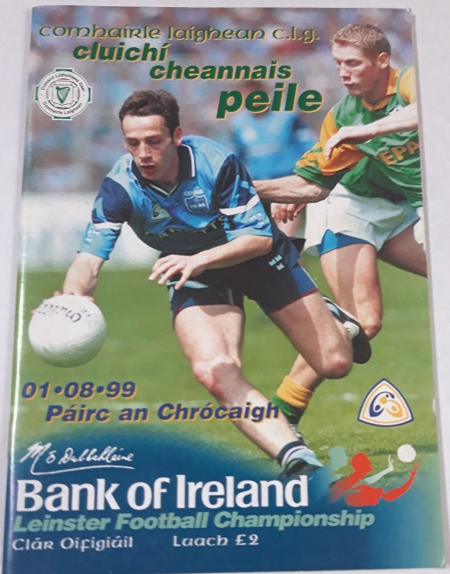 1999 Dublin V Meath Croke Park Leinster Final