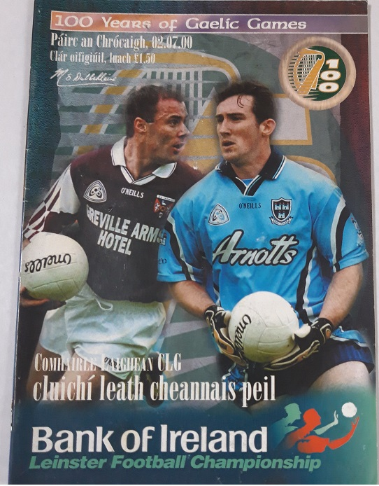 2000 Dublin v Westmeath Croke Park Leinster Semi Final