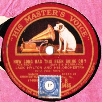 Jack Hylton - Henry's made a Lady out of Lizzie - HMV B.5485
