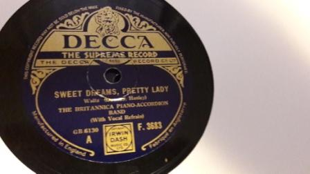 Britannioa Piano Accordion Band - Sweet Dreams - Decca F.3683
